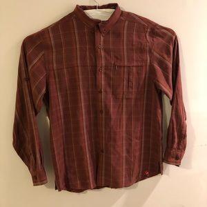 Men's large north face long sleeve shirt